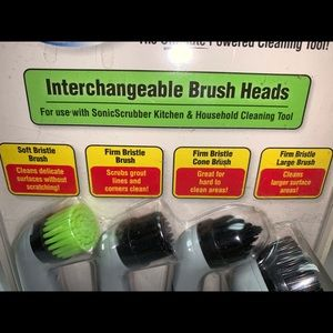 Kitchen - Sonic Scrubber Interchangeable Brush Heads
